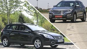 خودروبانک پلاس 3 – بررسی H30 کراس و هیوندای سانتافه