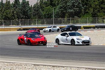 گزارش خودرو بانک از دومین راند مسابقات اتومبیلرانی قهرمانی کشور