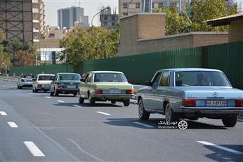 گزارش گردهمایی مرسدس بنز های کلاسیک در تهران - 14