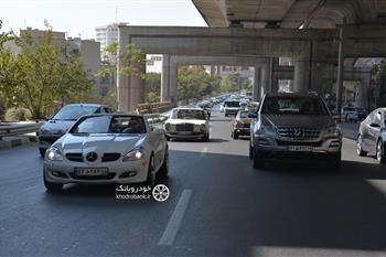 گزارش گردهمایی مرسدس بنز های کلاسیک در تهران - 3