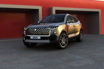 گنو، طراحی ایرانی برای شاسی بلند جدید ایران خودرو - 1
