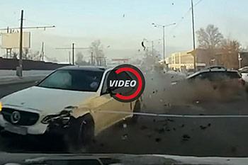 احمقانه ترین تصادف های مرسدس بنز را ببینید + فیلم