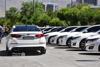 گردهمایی پرشور 60 دستگاه کیا اپتیما در تهران برگزار شد