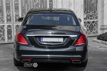 بررسی مرسدس بنز S500 در تهران، بهترین بنز جهان - 29