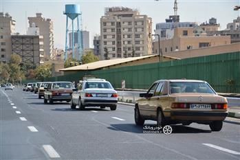 گزارش گردهمایی مرسدس بنز های کلاسیک در تهران - 16