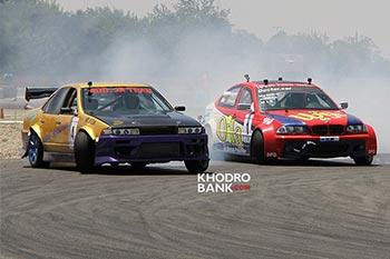 گزارش خودروبانک از دومین راند مسابقه دریفت + فیلم