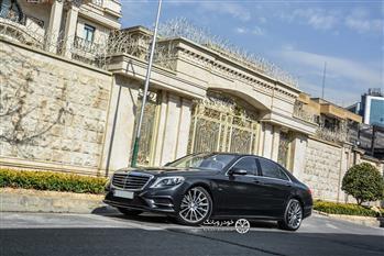 بررسی مرسدس بنز S500 در تهران، بهترین بنز جهان - 89