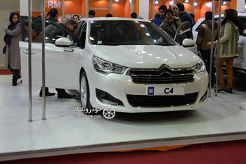 نمایشگاه خودرو اصفهان: سیتروئن C4 سرانجام آمد + عکس
