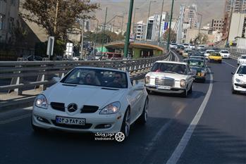 گزارش گردهمایی مرسدس بنز های کلاسیک در تهران - 4