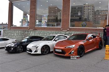 گردهمایی خودروهای ژاپنی در تهران + عکس