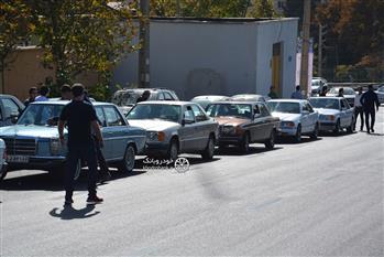 گزارش گردهمایی مرسدس بنز های کلاسیک در تهران - 32