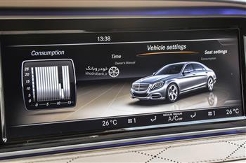بررسی مرسدس بنز S500 در تهران، بهترین بنز جهان - 14