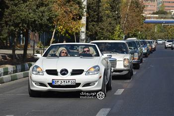 گزارش گردهمایی مرسدس بنز های کلاسیک در تهران - 18