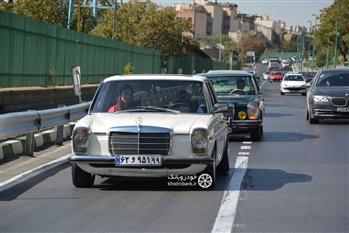 گزارش گردهمایی مرسدس بنز های کلاسیک در تهران - 11