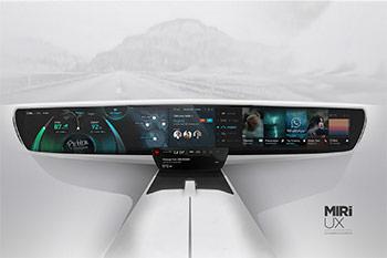 داشبورد خودروها در آینده این شکلی خواهند شد + عکس