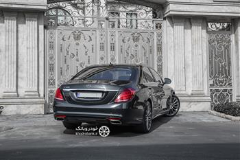 بررسی مرسدس بنز S500 در تهران، بهترین بنز جهان - 27