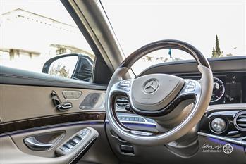 بررسی مرسدس بنز S500 در تهران، بهترین بنز جهان - 74