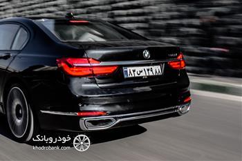 بررسی و معرفی نسل جدید بی ام و 730Li در تهران - 1