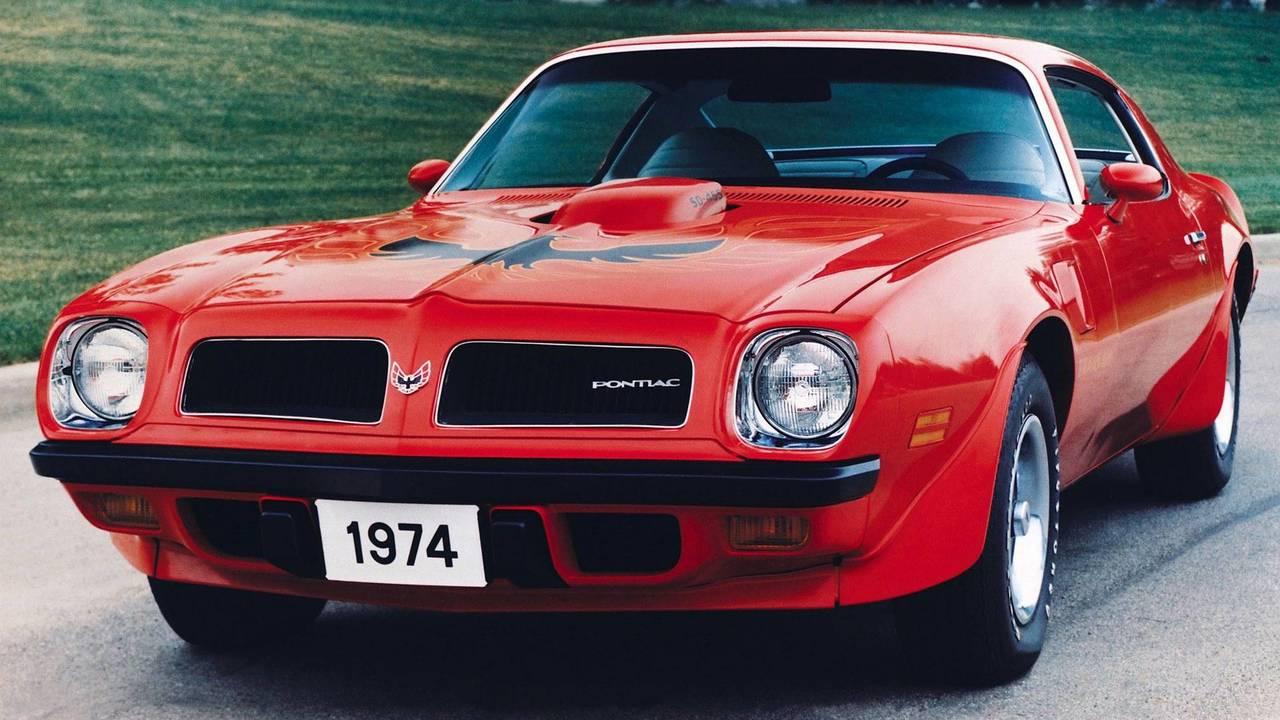 پونتیاک فایر برد ترنز ام SD-455 مدل 1974