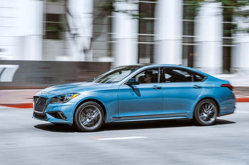 بررسی هیوندای جنسیس 2018 مدل G80 اسپرت خودرو بانک