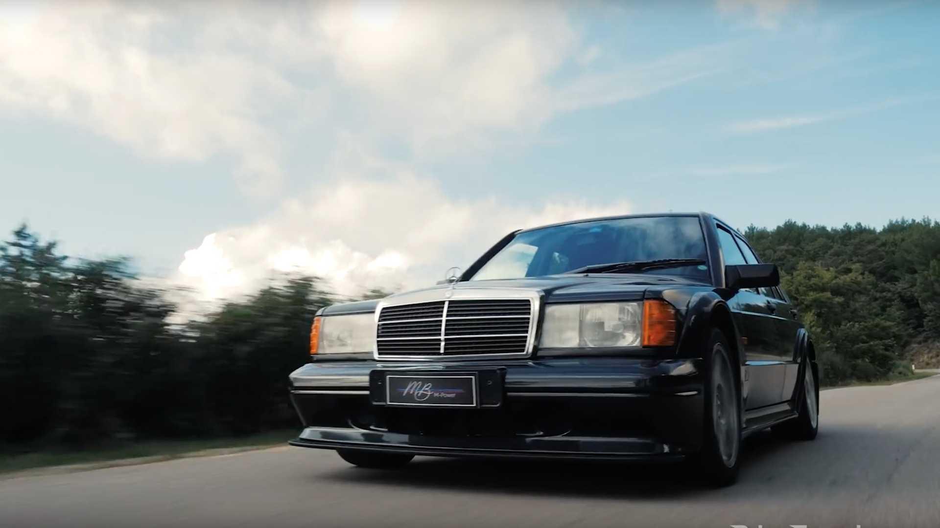 آیا مرسدس بنز 190E نسخه Evo II هنوز یک خودرو اسپرت شایسته است؟ + فیلم