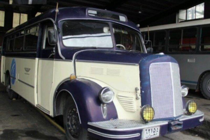 راهاندازی موزه اتوبوسهای قدیمی در تهران