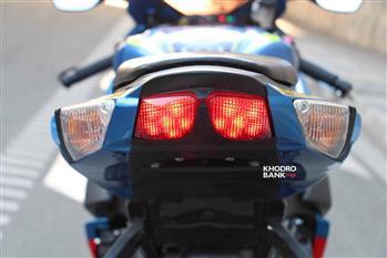 بررسی فنی و حرکتی سوزوکی GSXR-750؛ سامورایی روی دوچرخ - 22