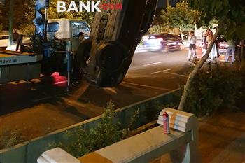 حادثه وحشتناک در ولنجک تهران برای بی ام و X3 + عکس - 5