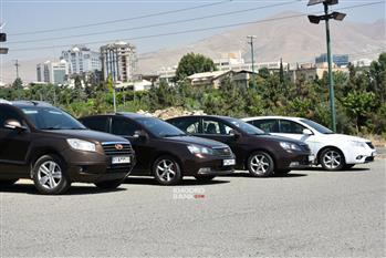 گردهمایی خودروهای جیلی در تهران برگزار شد + عکس - 7