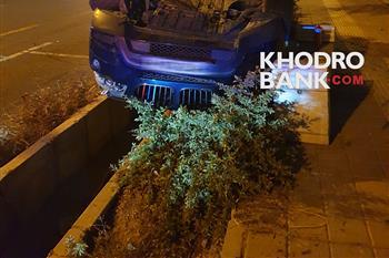 حادثه وحشتناک در ولنجک تهران برای بی ام و X3 + عکس - 2