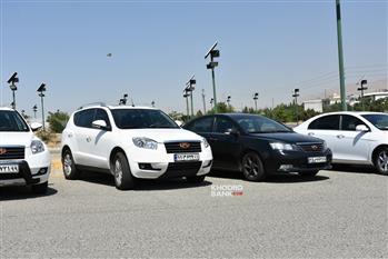 گردهمایی خودروهای جیلی در تهران برگزار شد + عکس - 4