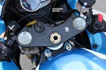 بررسی فنی و حرکتی سوزوکی GSXR-750؛ سامورایی روی دوچرخ - 19