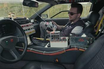 خودروی کنترلی فیلم Back to the Future اینبار در دنیای واقعی - 0
