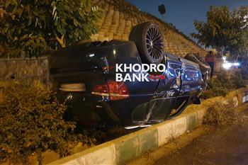 حادثه وحشتناک در ولنجک تهران برای بی ام و X3 + عکس - 3