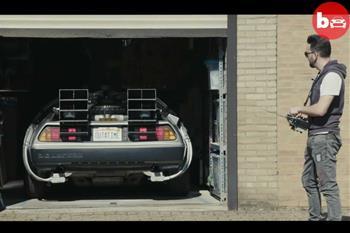 خودروی کنترلی فیلم Back to the Future اینبار در دنیای واقعی - 1